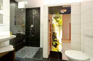 Badezimmer Infrarotwärmekabine
